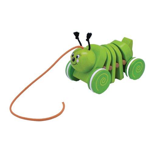 Toys For Play Jouets en Bois pour Jouer Tirer Chenille