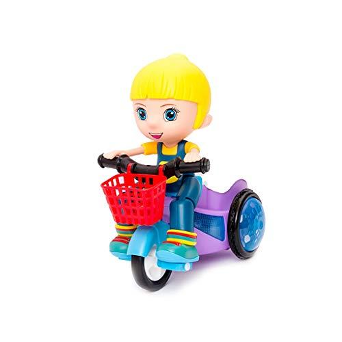 El Primer Balance de la Bicicleta Plegable de Tres Ruedas de Triciclo Infantil de Las recién Nacidas a Walker 2 en Triciclo niño de 2 años de Edad 1 Infantil (Color : Blue)