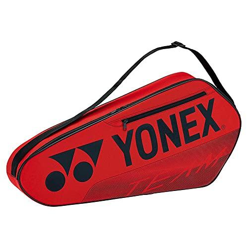 YONEX Team Racquet 3 Pack Tennis Bag (Red)