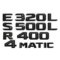 メルセデスベンツAMG ABCEGS CL SL R CLK GLE ML GLEクラス用、トランクリアレターナンバーバッジ