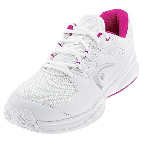 Head Brazer 2.0, Zapatillas de Tenis para Mujer, Blanco (White/Violet Whvi), 39 EU