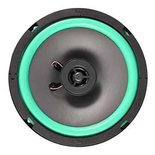 Koaxial-Lautsprecher für Auto, 16,5 cm, 85 dB, hohe Klangqualität, universal, 80 W, Auto-Musik-Player, Zubehör, 70 Hz-18 kHz, verlustfreie Musiklautsprecher