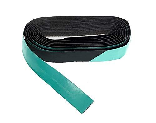 Bianchi - Lenkerband DROPS BICOLOR 2020, Farbe schwarz matt / CK16 Neonblau glänzend, Code C2600094