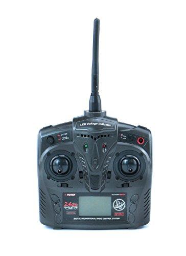 efaso FX051 - Helikopter Feilun 4-Kanal 2.4 GHz Single-Rotor Hubschrauber - klein und wendig, RTF