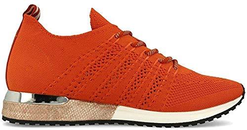 La Strada 1802649 Sneaker Knitted Dark Orange 38
