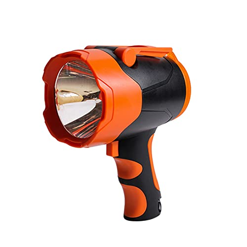 Bomoya Proyector inalámbrico USB recargable linterna LED puede ser colgado portátil al aire libre camping luz de emergencia 10 W 2 x 2000 ma