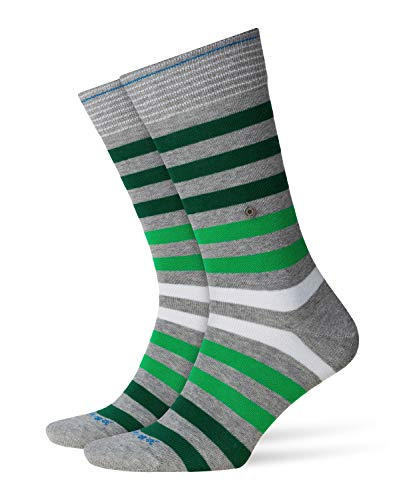 Burlington Herren Blackpool M SO Socken, Blickdicht, Grau (Light Grey 3401), 40-46 (UK 6.5-11 Ι US 7.5-12)