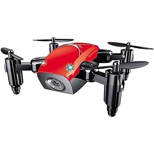 Mini Drone, quadricottero WiFi FPV RC con videocamera HD, Drone Pieghevole con Mantenimento dell'altitudine, modalità Senza Testa, Drone Tascabile Selfie per Bambini e Principianti
