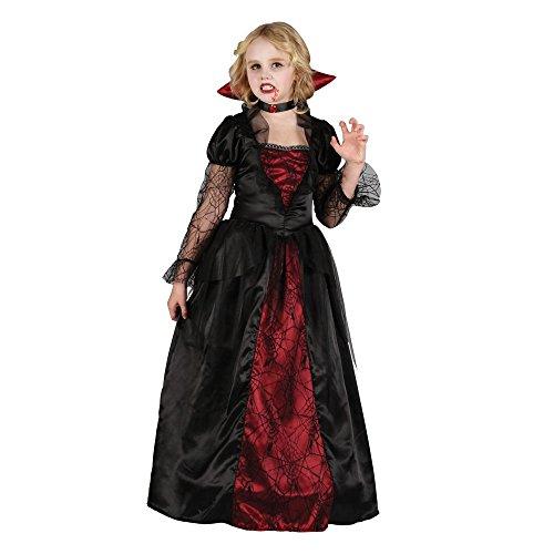Vampire Princess Child's Halloween Fancy Dress Costume Size S 3-4 years (110-122cm)