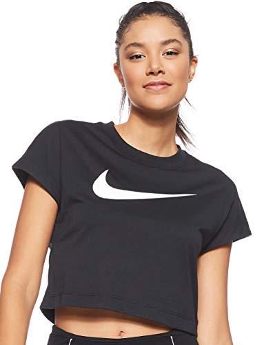 Nike W NSW Swsh Top Crop SS Fitness e palestra Sport e tempo