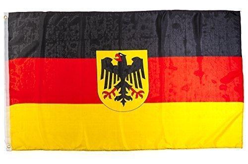 shenky Flagge Fahne 150x90cm Verschiedene Länder Fan Fussball (BRD Adler)