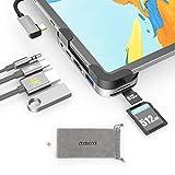 USB C Hub for iPad Pro 2020/2019/2018, 6 in 1 Type...