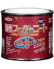 アサヒペン 油性スーパーコート 1/5L ストーンブルー