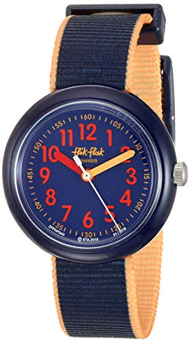 FlikFlak Jungen Analog Quarz Uhr mit Stoff Armband FPNP043