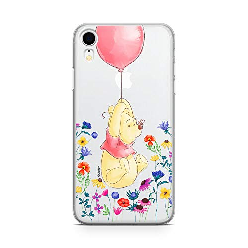 ERT GROUP Original Disney Winnie The Pooh TPU Case for iPhone XR, Liquid...