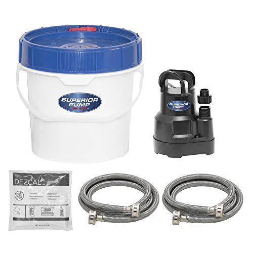 Superior Pump 91660 Tankless Water Heater Descaler Pump Kit, Black