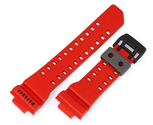 Casio 10482078auténtica Factory de Repuesto Resina Reloj Banda para GA-400–4B