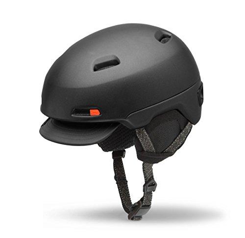 Giro Shackleton Winter Fahrrad Helm schwarz 2017: Größe: S (51-55cm)