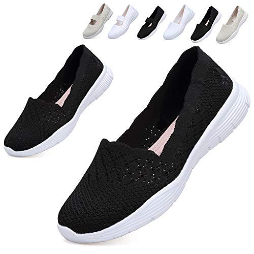 [Hanani] ナースシューズ レディース スニーカー スリッポン ウォーキングシューズ デイリーシューズ スポーツシューズ 作業靴 カジュアルシューズ 婦人靴 履きやすい 歩きやすい 疲れな 病院 看護師 学生 少女 母親 中老年 軽い 軽量 幅広設計