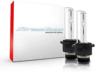 XtremeVision HID Xenon Replacement Bulbs - D4S / D4R / D4C - 8000K Medium Blue (1 Pair) - 2 Year Warranty