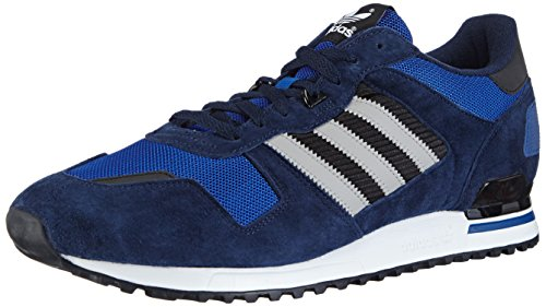 adidas Zx 700, Unisex Adults' Low-Top Sneakers, Blue (Collegiate Navy/MGH Solid Grey/Collegiate Royal), 6.5 UK (40 EU)