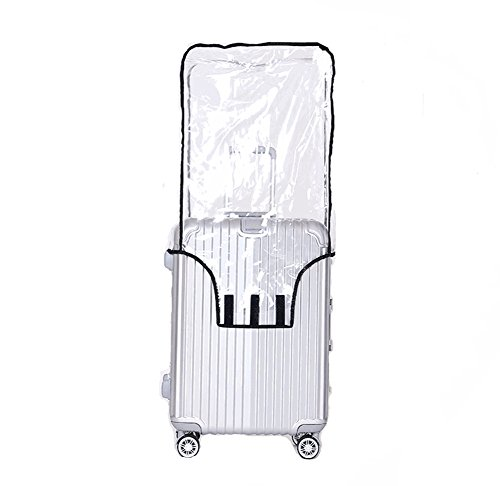 Luggage Protector Suitcase Cover PVC Waterproof Travel Suitcase Fits Most 20' to 30'(20')