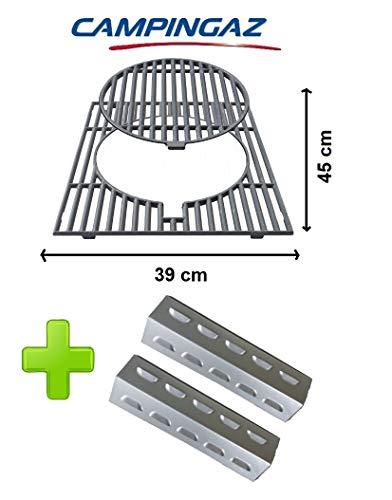 Gietijzeren rooster met afneembare ring CAMPINGAZ - Culinary Modular + 2 uitlaaters voor UITTRALIANI