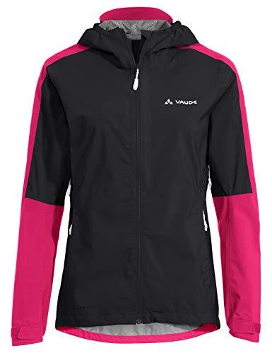 VAUDE Damen Jacke Women's Moab Rain Jacket II, Black, 42, 42290