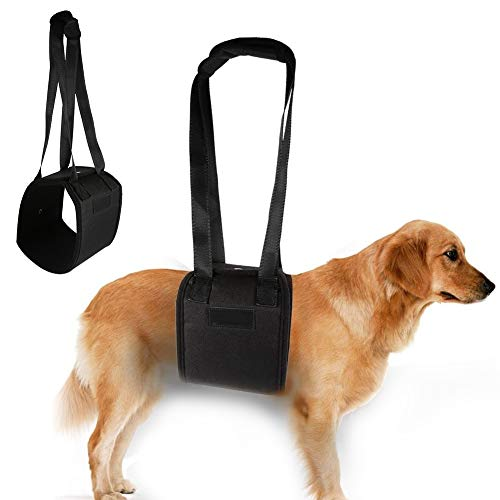 Smandy Hundegeschirr Hunde Tragehilfe Gehhilfe Gehhilfe Hund für Rehabilitation der Wirbelsäule des Hundes, der Hüft und Kniegelenke(L)