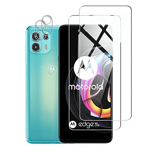 Protector de Pantalla para Motorola Moto Edge 20 Lite Cristal Templado...