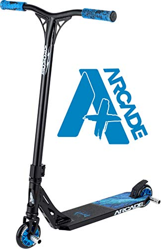 Arcade Pro Scooters Plus Stunt Scooter for Kids 10 Years and Up - Perfect for Intermediate Boys and Girls - Best Trick Scooter for BMX Freestyle Tricks (ARCADE Plus - ICY Lava)