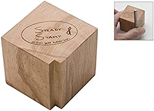 Steady Stamp Holder Block Jewelry Making Metal Marking Round Square Stamp Tool