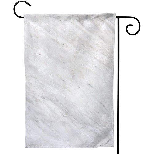CHANGSHABF Tuinvlag, Gepersonaliseerde Thuis Tuin Marmeren Tegel Decoratie 70X102Cm Dubbelzijdige Tuinvlag