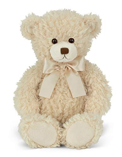 Bearington Brumby White Plush Stuffed Animal Teddy Bear, 17 inches