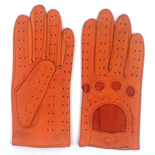 guanti vintage ZLUXURQ Guanti in pelle da donna