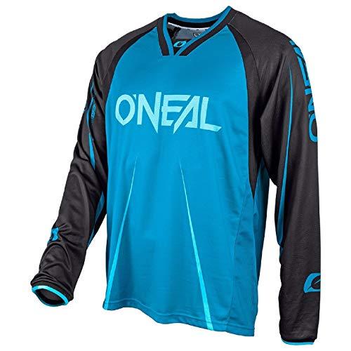 Oneal Blue-Black 2018 Element FR Blocker Long Sleeved MTB Jersey