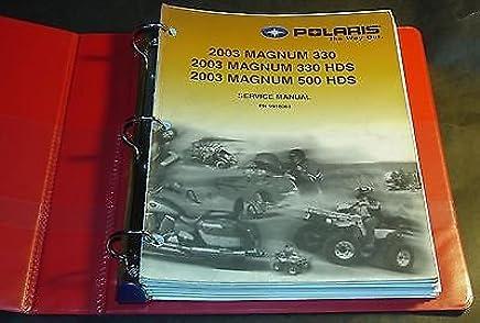9918063 2003 polaris magnum 330 2003 polaris magnum 500 service.