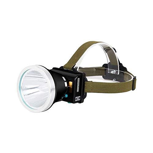 JIAXU Linterna LED recargable para minería Camping senderismo Pesca