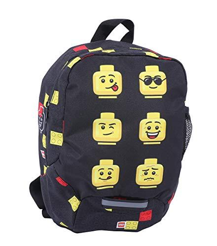 LEGO Bags Zaino per bambini, ca. 32,5 x 24 13 cm, Faces