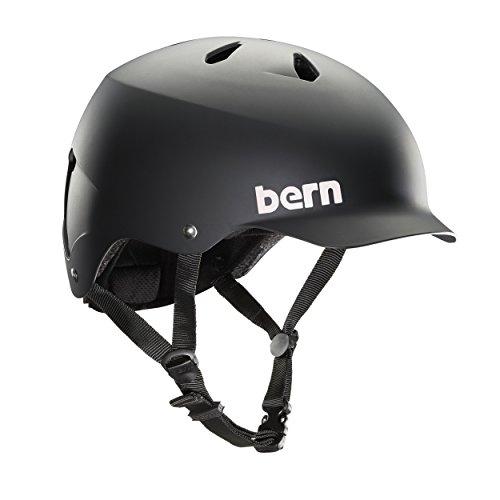 Bern Watts matt Wasser Helm, Herren, MW5MBKM, Schwarz, M