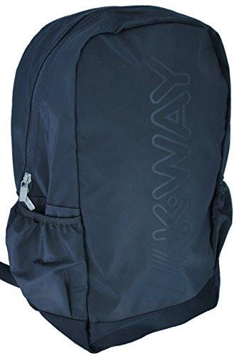 K-Way 7akk81240p701, Zaino Uomo, Nero (0P7 Coffee Black), 14x42x30 cm (W x H x L)