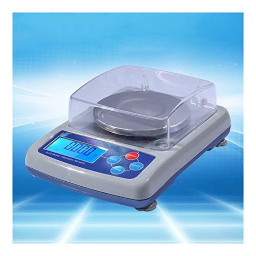 ZCXBHD Precisione Digital Lab Bilancia analitica Elettronica Bilancia Laboratorio Bilance Pesa Gioielli (con Parabrezza) Cucina di precisione Bilance elettronico 0.001g (Size : 50g/0.001g)