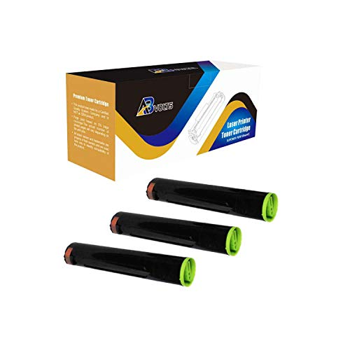 AB Volts Compatible Toner Cartridge Replacement for Panasonic DQ-TU15E for Workio DP 2310 2330 3010 3030 (Black,3-Pack)