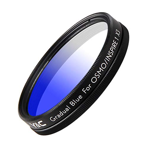 Shiwaki 43mm HD Multicoated Farbfilter Kit Für DJI OSMO / Inspire1 X3 - Blau