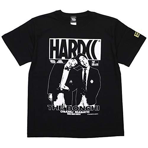 (ハードコアチョコレート) HARDCORE CHOCOLATE ザ・ぼんち×ハードコアチョコレート (THE BONCHI)(SS:TEE)(T-1111EM-BK) Tシャツ 半袖 カットソー 漫才 お笑い 吉本興業 国内正規品 XXL ブラック