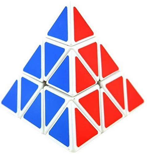 ccfgh CubePuzzle triángulo mágico de la torcedura del Juguete del Juego Borde Blanco