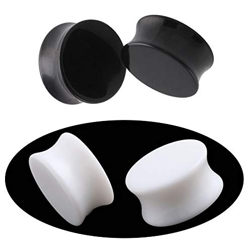 white 1 2 inch plugs - 8