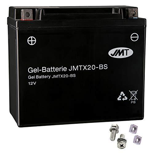 YTX20-BS JMT - Batería de gel para XLH 883 Sportster Hugger año 1989 – 1996