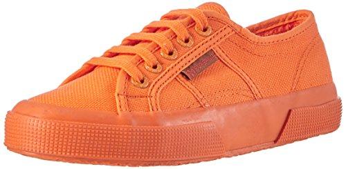 Superga Unisex-Erwachsene Classic Sneaker Low-Top 2750 Cotu Classic, Orange (A02), 35 (Herstellergröße: 2.5)