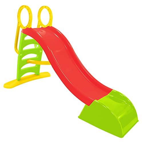 Mochtoys Rutsche , Rutsche mit Wasseranschluss , Spaß für Kinder, Sehr hübsch Kinderrutsche, stabil, Rutsche